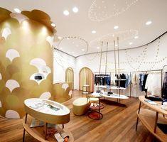 Japanese fashion designer, Tsumori Chisato's Shanghai store by Igarashi Design Studio.