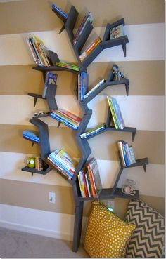 Interesting bookshelf!