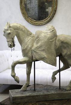 Antique horse