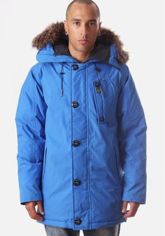 G-Star Raw Mountain Hooded Men's Parka Deep Ink #DiffusionNewArrivals