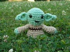 Jedi Master Yoda  Star Wars  Stuffed Animal  Amigurumi by meddywv, $18.00