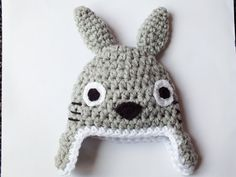 Hey, I found this really awesome Etsy listing at http://www.etsy.com/listing/156341616/crochet-baby-hat-totoro-baby-hat-photo