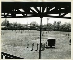 1942 Fort Smith Giants, via Flickr Fort Smith Arkansas, Big Photo, Old Photographs, Railroad Tracks, Vintage Photos, Places Ive Been, Waterfall, To Go, History