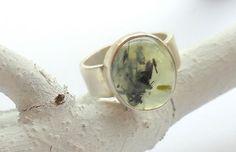 Ring | zilver rutiel kwarts | Rixt sieraden
