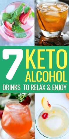Keto Alcohol Drinks: 7 Cocktail Recipes on the Ketogenic Diet Keto alcohol drinks keto alcoholic beverages keto cocktail recipes. The post Keto Alcohol Drinks: 7 Cocktail Recipes on the Ketogenic Diet appeared first on Summer Ideas. Low Carb Cocktails, Low Sugar Alcoholic Drinks, Low Carb Mixed Drinks, Fruity Alcohol Drinks, Low Calorie Drinks, Drinks Alcohol Recipes, Diet Drinks, Cocktail Recipes, Alcoholic Beverages