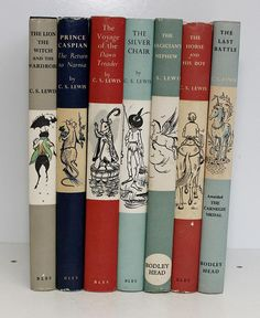 The Chronicles Of Narnia, 7 volume book set, by C.S. Lewis