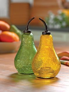Pear Fruit Fly Traps are effective and discreet. Purchase from Gardeners.com