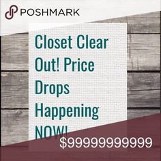 CLOSET CLEAR OUT CCO! PRICE DROPS Dresses Backless