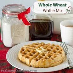 Whole Wheat Waffle Mix - Real Mom Kitchen