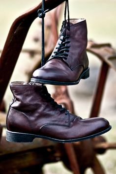 Love these types of boots. I actually want a pair for myself, too.