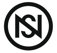 I'm not a graphic designer Initials Logo, Monogram Logo, Logos, Logo Branding, Ns Logo, Love Status Whatsapp, Alphabet Wallpaper, Flat Logo, Create A Logo
