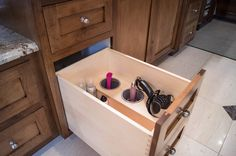 """""""Fitting"""" Solutions for a Large Master Bath. The original vanities in this spacious master bath were quite small and just not fit for the room. After compl"""