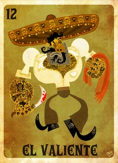 Posters by Jorge R. Gutierrez, via Behance