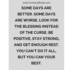 Some days are better. Some days are worse. Look for the blessing instead of..... www.FunctionalRustic.com #functionalrustic #quote #quoteoftheday #motivation #inspiration #quotes #diy #homestead #rustic #pallet #pallets #rustic #handmade #craft #affirmation #michigan #puremichigan #repurpose #recycle #crafts #country #sobriety #strongwoman #inspirational  #quotations #success #goals #inspirationalquotes #quotations #strongwomenquotes #recovery #sober #sobriety