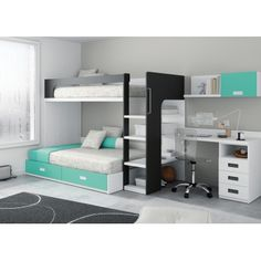 Risultati immagini per literas modernas Bedroom Furniture, Bedroom Decor, Awesome Bedrooms, Dream Rooms, My New Room, Small Rooms, Bed Design, Girl Room, Child Room