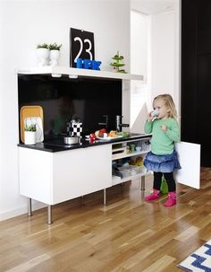 Charmant A Family Home. Kid KitchenIkea Play ...
