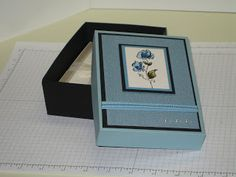 Stampin' Up! A2 Boxes with Tutorial