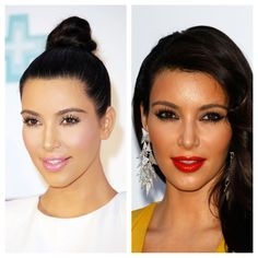 The beauty concoctions of the baby carrier. #KimKardashian #beauty #makeup #ideas #inspiration