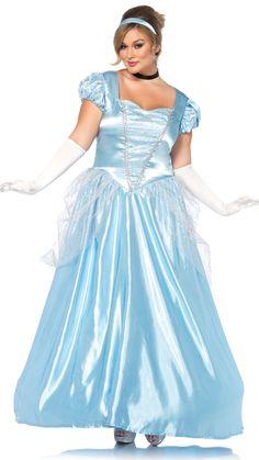 a9aa64fcca5 Plus Size Cinderella Costume-Costume-Boughie-Boughie Plus Size Disney  Costumes