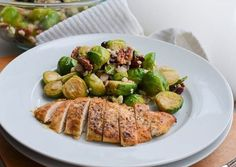 INGREDIENTS 4 boneless, skinless chicken breasts ½ cup Dijon mustard ¼ cup maple syrup 1 tablespoon red wine vinegar Salt & pepper Fresh rosemary INSTRUCTIONS Preheat oven to 425 degrees. In a small bowl, whisk together mustard, syrup, and vinegar. Place chicken breasts into 9x13 lined baking dish. Season with…