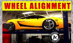 Chicago A+ Wheel Alignment Poster