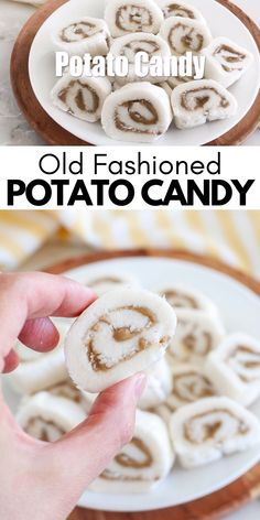 Mashed Potato Candy, Sweet Potato Candy Recipe, Mashed Potato Cookies Recipe, Christmas Snacks, Christmas Cooking, Old Fashioned Potato Candy Recipe, Old Fashioned Recipes, Candy Recipes, Sweet Recipes
