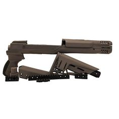 Ruger Mini-Thirty - TactLite Adjustable Stock with Scorpion Recoil System, Destroyer Gray