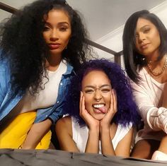 #Popgang101 ---- Puurrrrrty ones on deck. @tiffanylaos @loveebonique  @wearepopculture #Popular By Christina Milian #ChristinaMilian