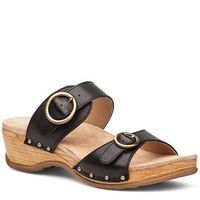 Dansko Manda Black Sandal