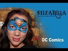 RoxaRosa Face Paint Tutorial Superman