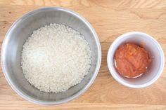 明太子炊き込みご飯の材料