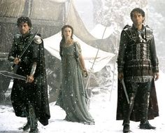 Ioan Gruffudd , Keira Knightley and Clive Owen in Touchstone Pictures' King Arthur