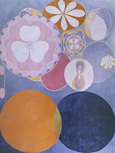 the ten largest, n ° 2 barnaaldern.  Hilma af Klint