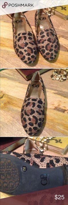 Gianni Bini Cheetah Flats Perfect like new GB cheetah flats. Worn once. Gianni Bini Shoes Flats & Loafers