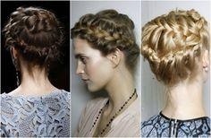 braids braided updo