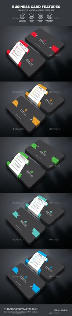Professional Business Card Template #blue business #business card  • Download here → https://graphicriver.net/item/professional-business-card-template/20221418?ref=pxcr