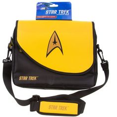 Official Star Trek Tablet Bag with Matching Stylus and Shoulder Strap
