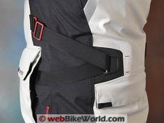 Rev'it Poseidon GTX Jacket Waist Adjuster