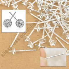 Cheap earring castings, Buy Quality earrings shoes directly from China bead Suppliers:	  	  	   													Size:  The dia. of Pin:0.7MM,the length:14MM