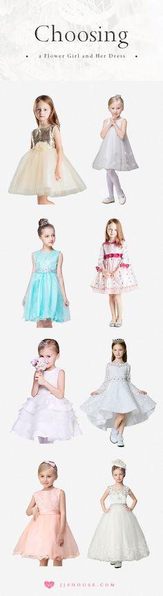 LADIES,Choosing a Flower Girl and Her Dress! #flowergirldress