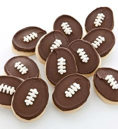 I could make these for football season!