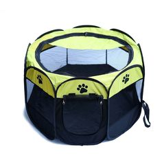 Your little friends need privacy too. Just Unfold and the tent is ready. Fits perfect for small and big size cats/dogs. Available in 3 colors and 2 size. Easy way to be happy with them :) Small Size: