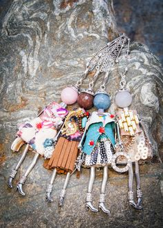 French Doll Necklaces Paris