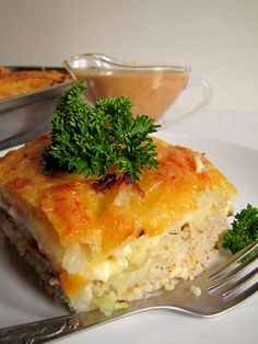 Food L, Good Food, Polish Recipes, Polish Food, Spanakopita, Lasagna, Quiche, Macaroni And Cheese, Recipies