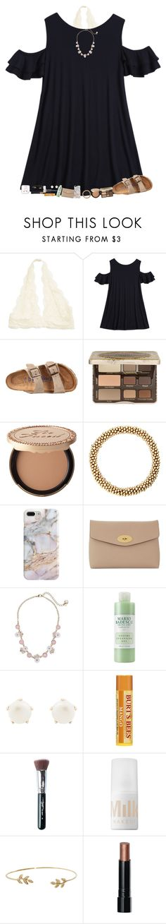 """Birks contest"" by lovelyelegantgirl ❤ liked on Polyvore featuring Birkenstock, Too Faced Cosmetics, Recover, Mulberry, Betsey Johnson, Mario Badescu Skin Care, Lulu Frost, Sigma, MILK MAKEUP and Humble Chic"