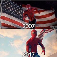 """(@spidey.marvel) på Instagram: """"Reliving an EPIC MOMENT. This trailer changed my life lol. Via @spidey.mcu - - [ #spiderman…"""""""