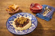 Carne com homus (Hummus Ma Lahma) | Panelinha - Receitas que funcionam