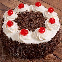 Tarta Selva Negra   Black forest cake