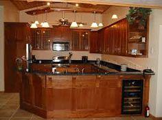 craftsman style kitchen cabinets | arts & crafts cherry kitchen