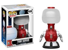 Pop! Television: Mystery Science Theater 3000Robot roll call! The riffing robot hosts of Mystery Science Theater 3000are joining the Funko family!Collect the debonair Tom Servo and the wise-cracking Crow,coming to stores this fall!Coming in October!